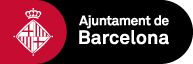 Barcelona City Council logo. Link to the Barcelona home webpage