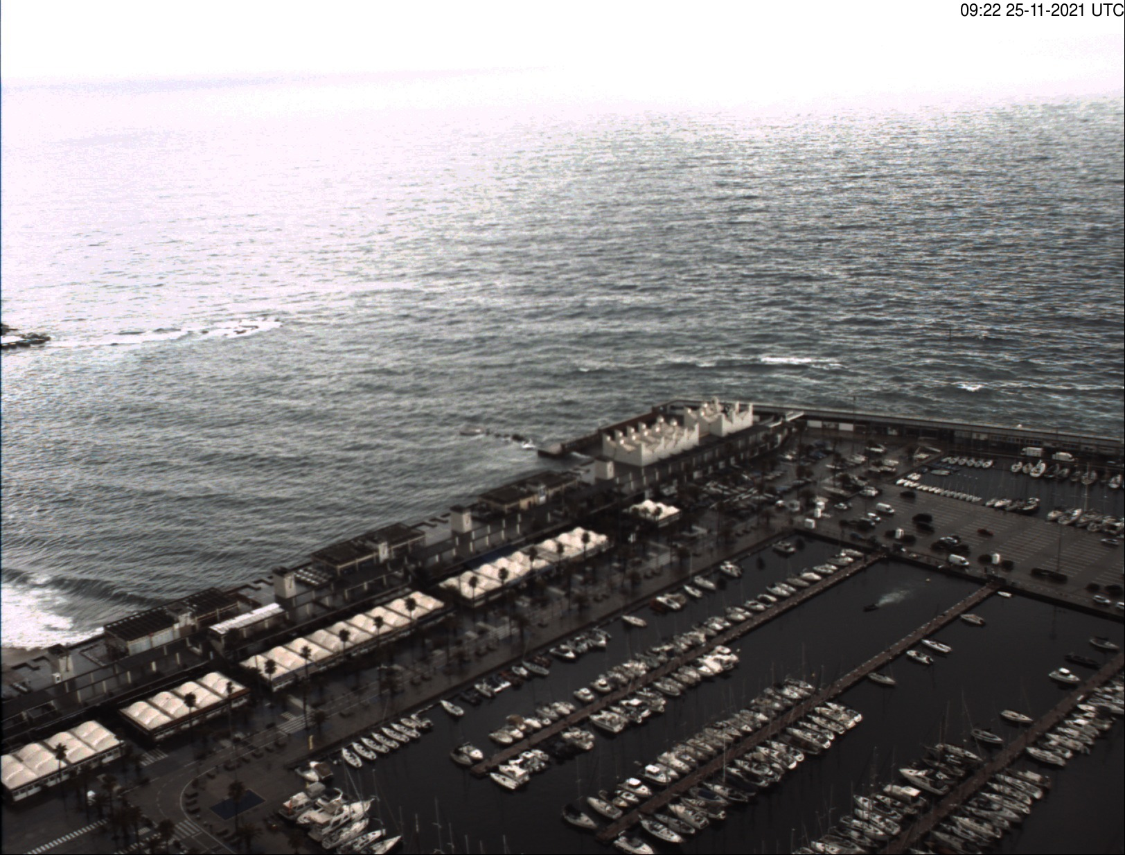 Port Olímpic – Webcam 1