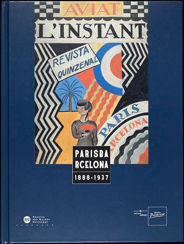 Catalogue cover for the exhibition Paris-Barcelona (1888-1936), 2002