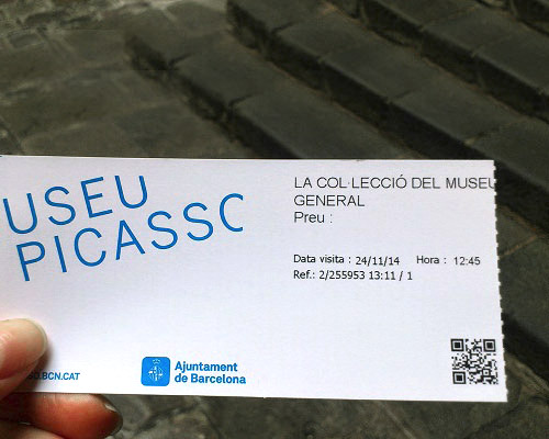 Carte Icom Barcelone.Opening Hours And Prices Picasso Museum Barcelona